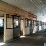 New Vocations stall doors and window grids