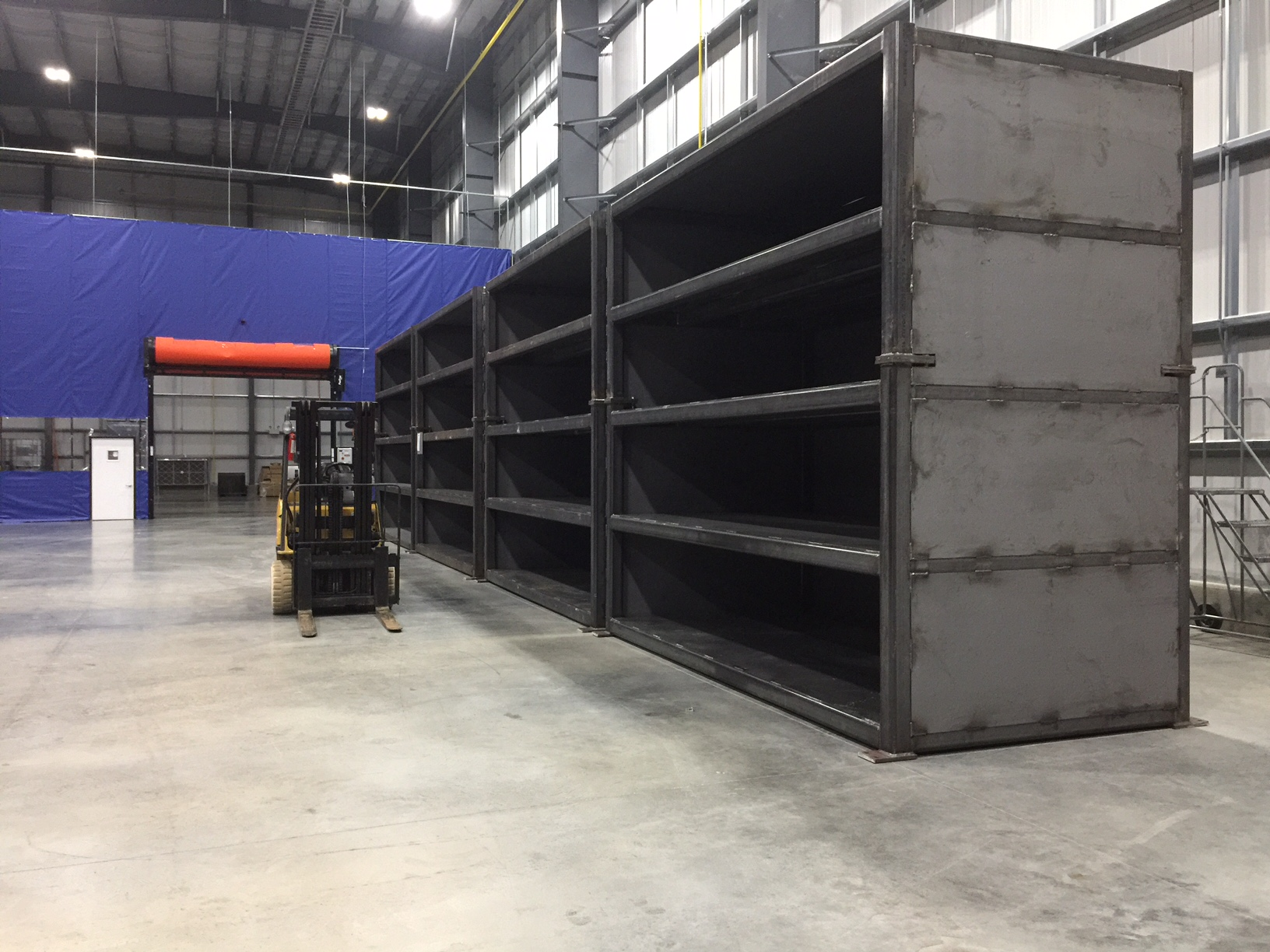 GMP blank storage racks
