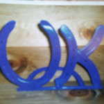 Horse Shoe UK sign