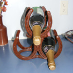 Three-Bottle Wine Rack